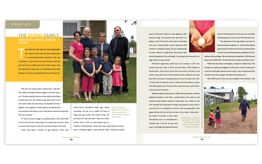 Photography and page layout