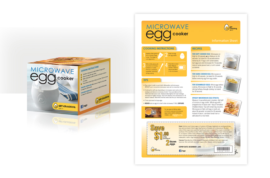 Product packaging and insert