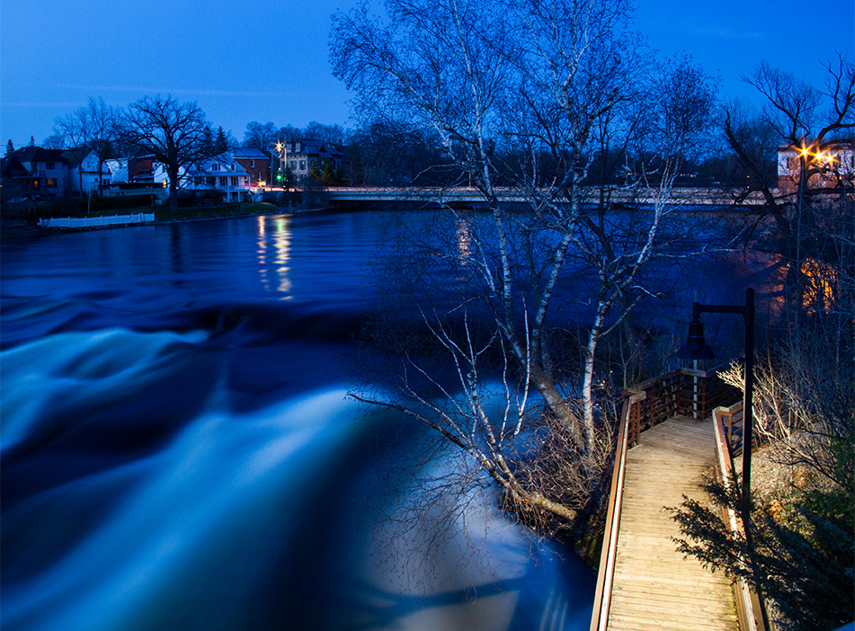 Nightfall on the Mississippi River, Almonte, Ontario